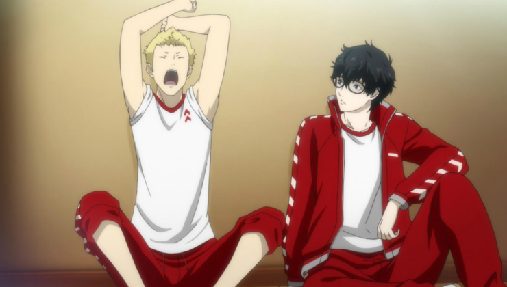 Ryujin_and_the_Protagonist_in_their_athletic_attire